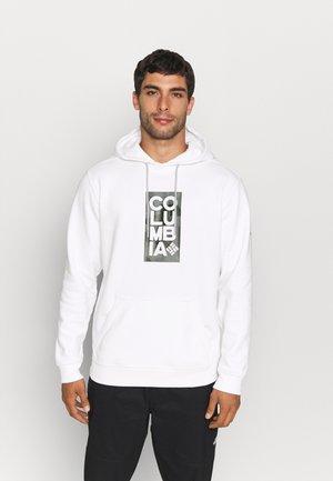 BASIC LOGO™ II HOODIE - Hoodie - white