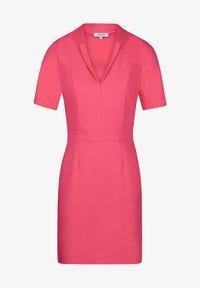 Morgan - Shift dress - neon pink - 3