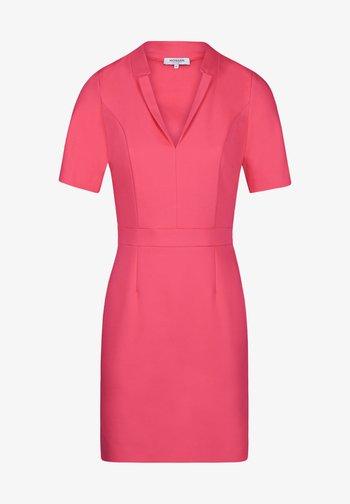 Shift dress - neon pink