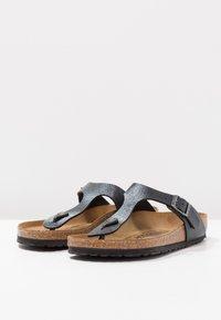 Birkenstock - GIZEH - T-bar sandals - slate - 3