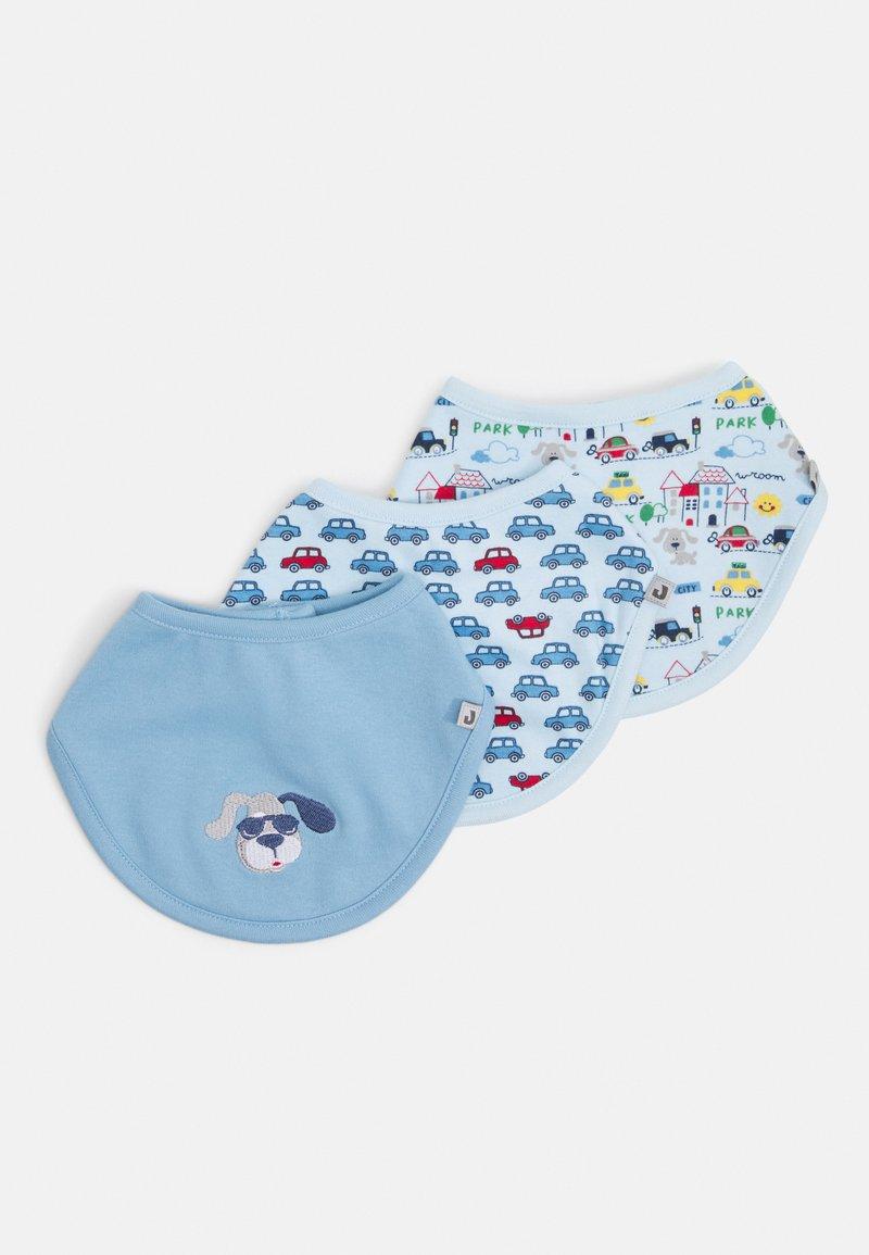 Jacky Baby - HAPPY CAR FRIENDS 3 PACK - Foulard - blau