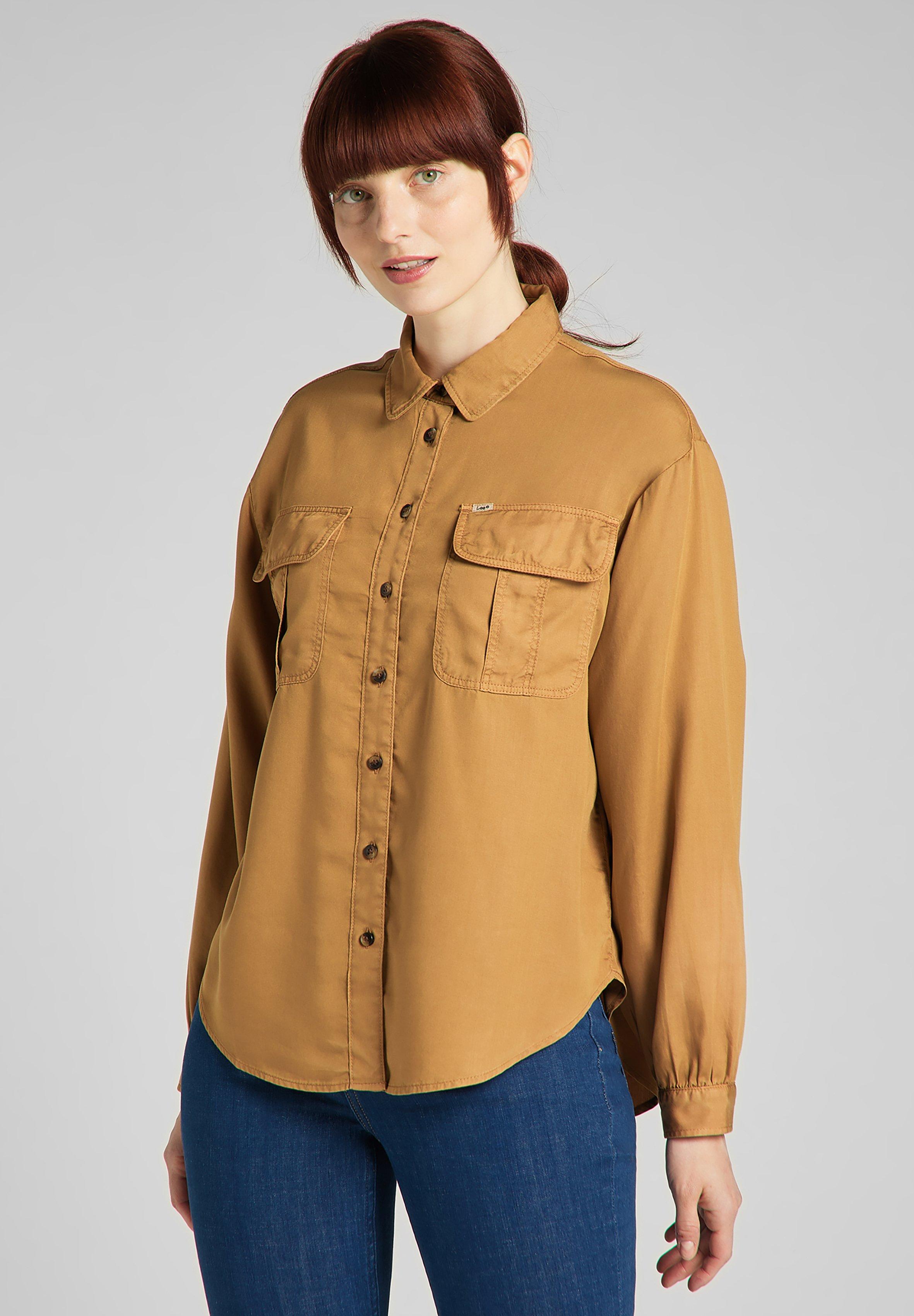 Donna BOX PLEAT SHIRT - Camicia