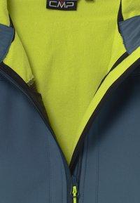 CMP - KID FIX HOOD UNISEX - Soft shell jacket - plutone - 2