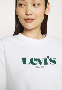 Levi's® - GRAPHIC STANDARD CREW - Felpa - white - 4