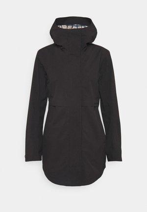 EDITH - Vodotěsná bunda - black