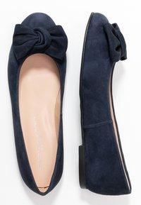 Brenda Zaro Wide Fit - WIDE FIT CARLA - Ballerinat - blue navy - 3