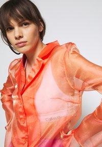 HOSBJERG - JASMINE - Button-down blouse - orange - 3