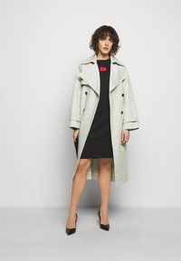 HUGO - NEYLETE REDLABEL - Jersey dress - black - 1