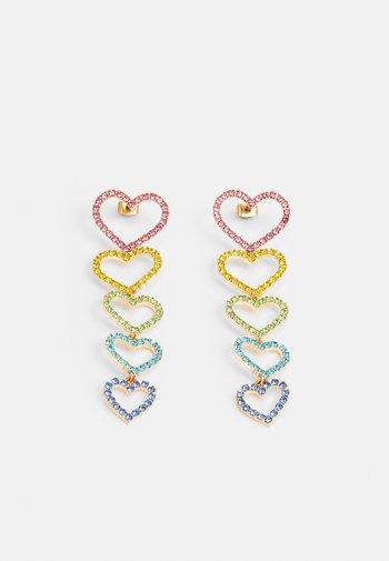 PCKISTIE EARRINGS - Earrings - gold-coloured/multi