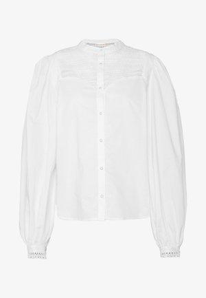 ELLENA - Button-down blouse - whisper white
