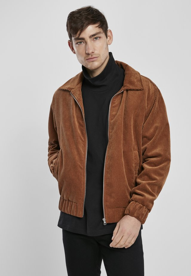 Bomber Jacket - toffee