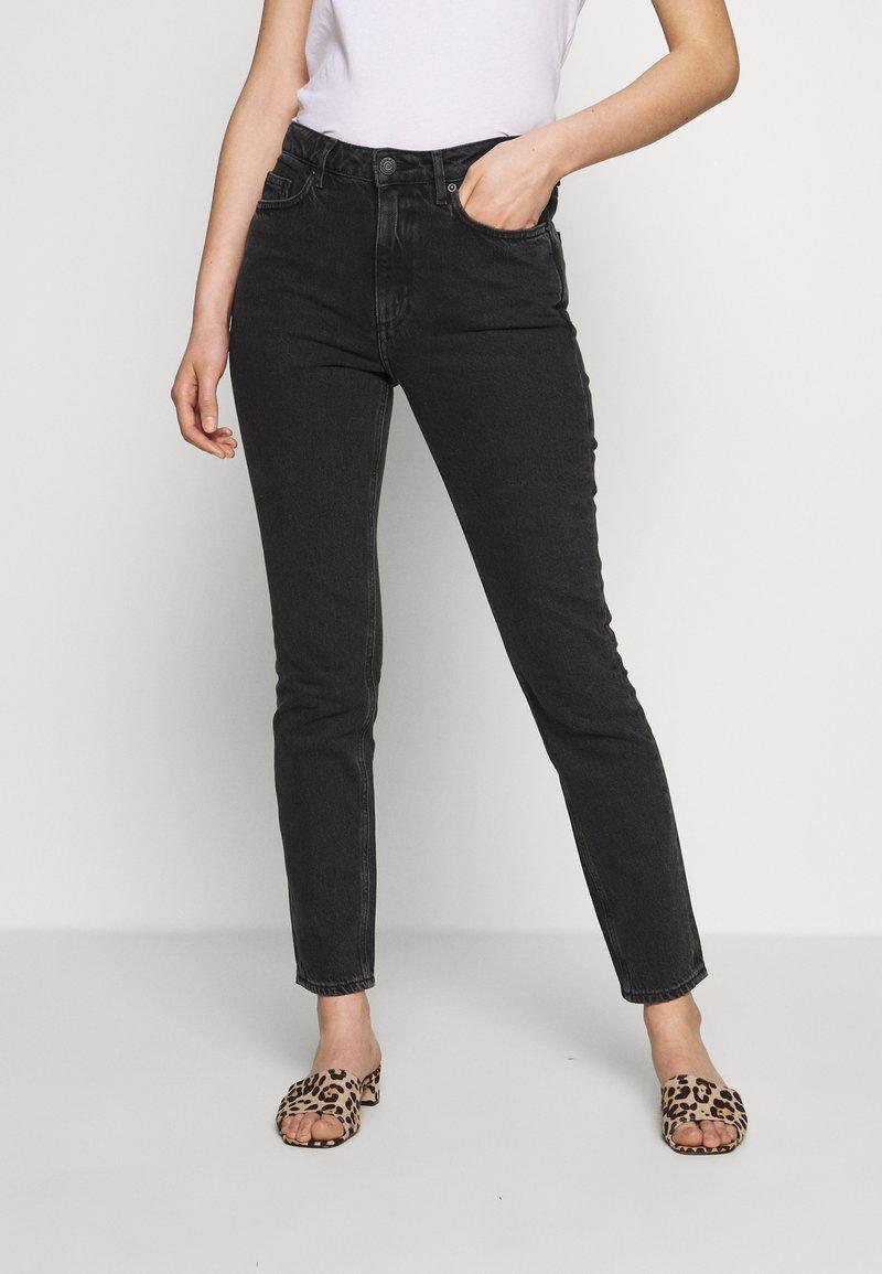 American Vintage - YOPDAY - Straight leg jeans - black denim