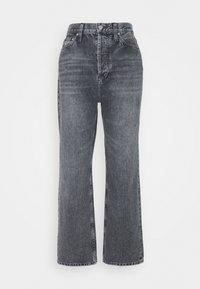DAD JEAN - Jeans baggy - washed black dart