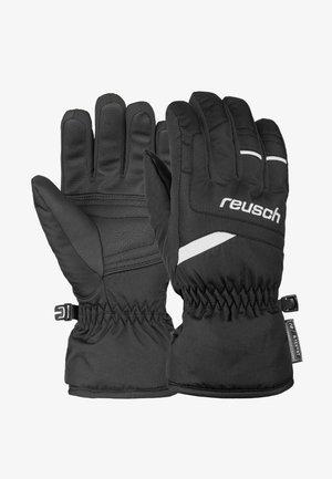 BENNET - Gloves - black/white