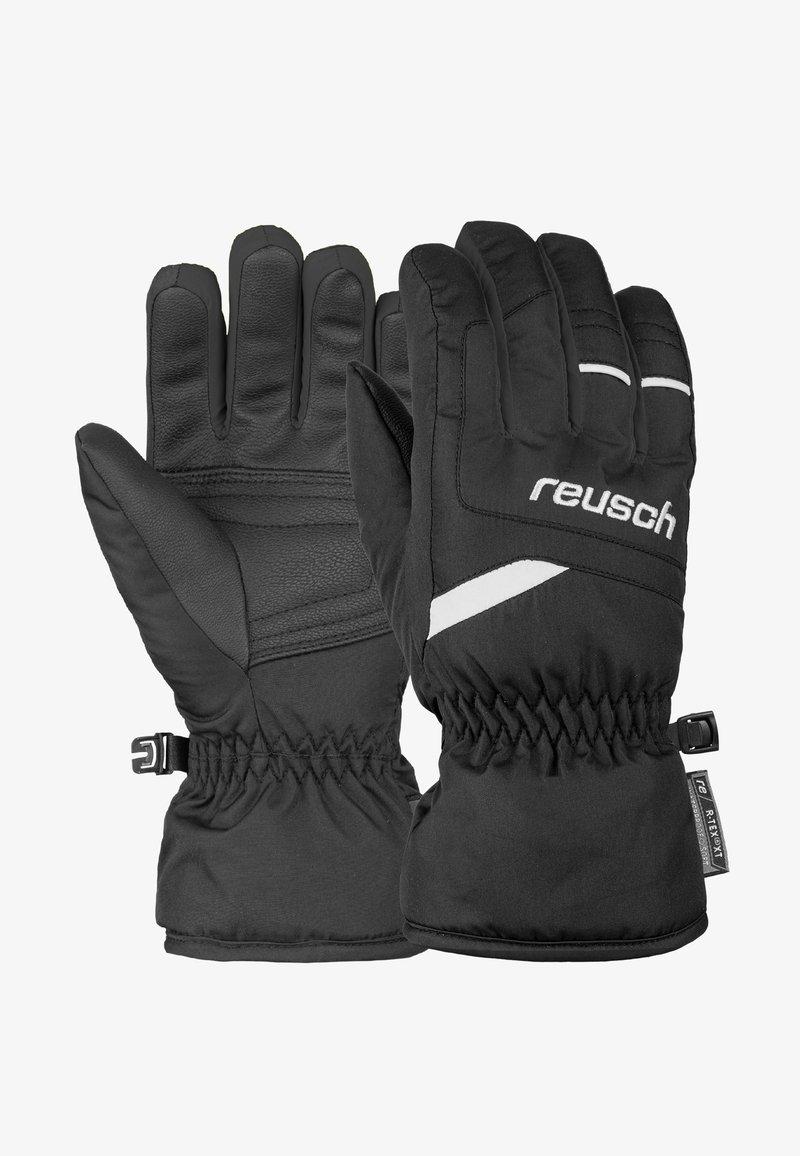 Reusch - BENNET - Gloves - black/white