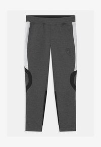 Automobili Lamborghini Kidswear - CONTRAST INSERT - Tracksuit bottoms - grey estoque - 0