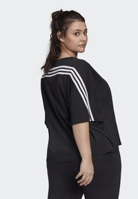 adidas Performance - AGRAVIC PARLEY PRIMEBLUE SHIRT TRAIL RUNNING - Print T-shirt - black/white - 1