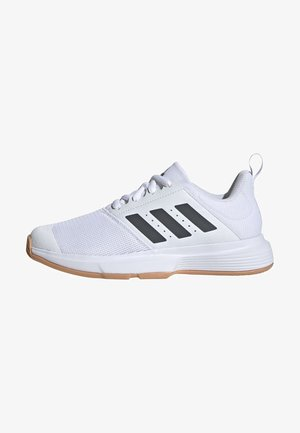 ESSENCE INDOOR SHOES - Carpet court tennis shoes - white