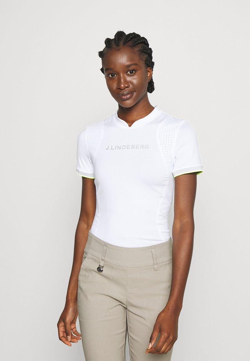 J.LINDEBERG - KENZIE GOLF - Print T-shirt - white