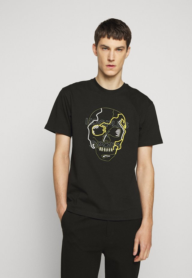 SKULL - T-shirt imprimé - black