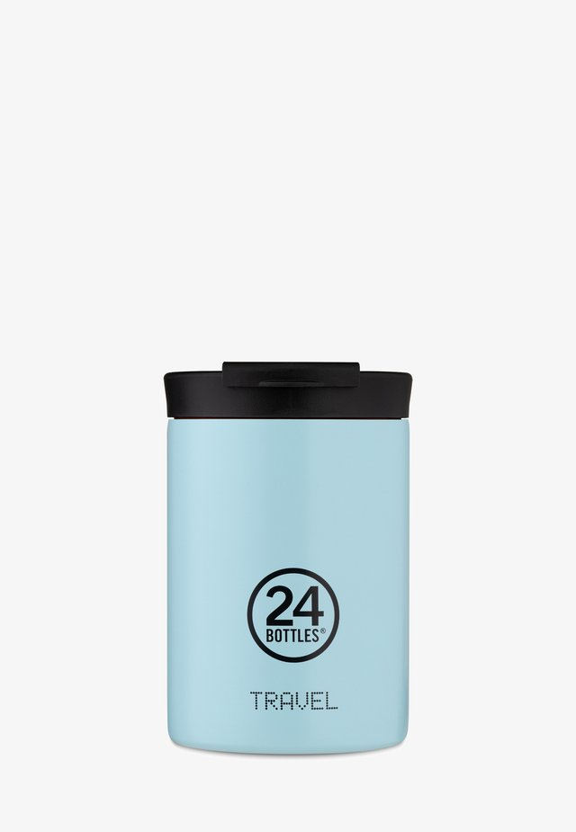 TRINKBECHER TRAVEL TUMBLER PASTEL - Drink bottle - blau