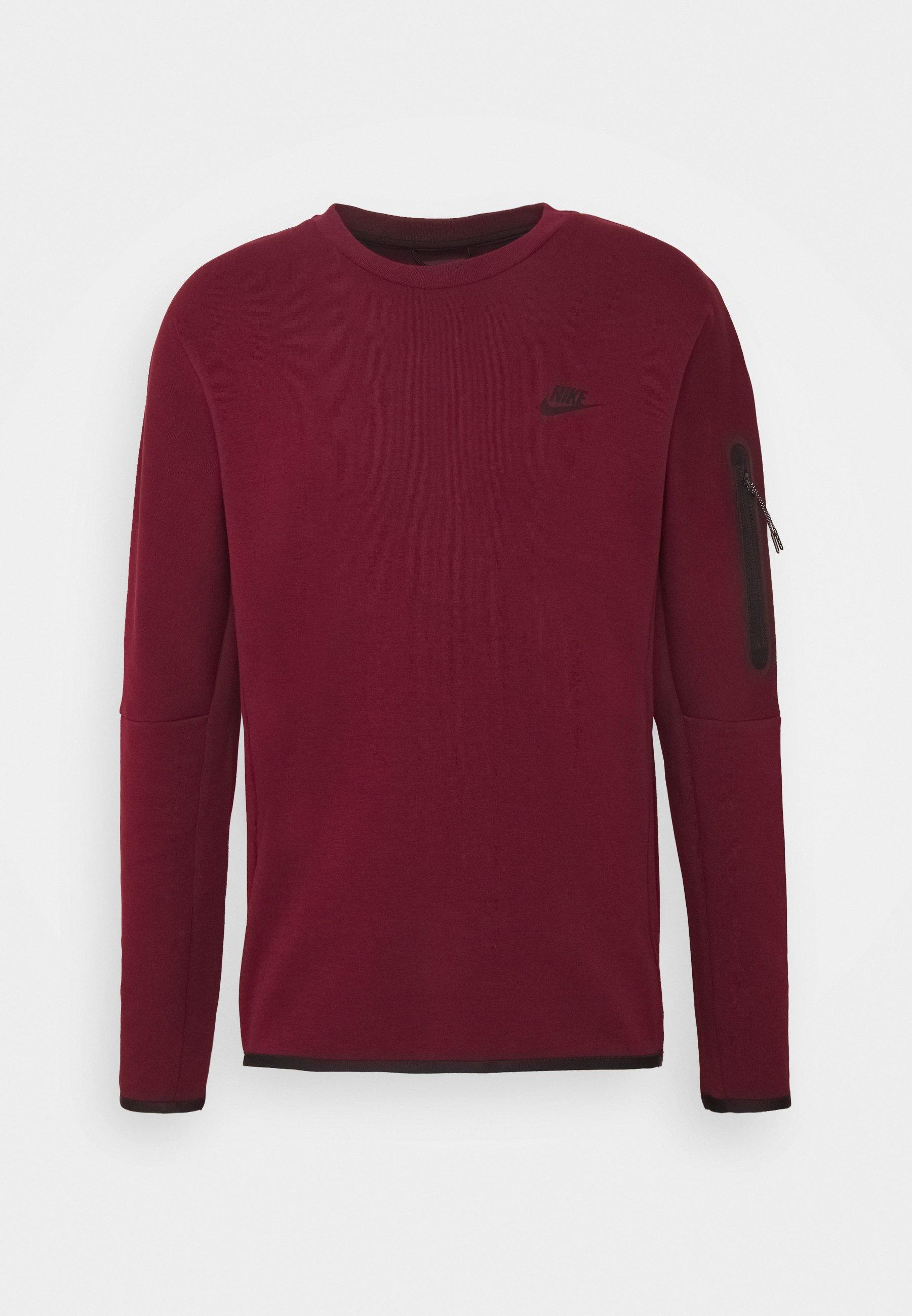 Nike Sportswear Sweatshirt - Dark Beetroot/(black)/mørkerød
