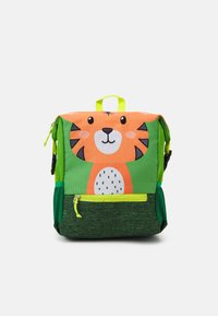 Fabrizio - RECYCLED BACKPACK TIGER UNISEX - Rucksack - light green - 0