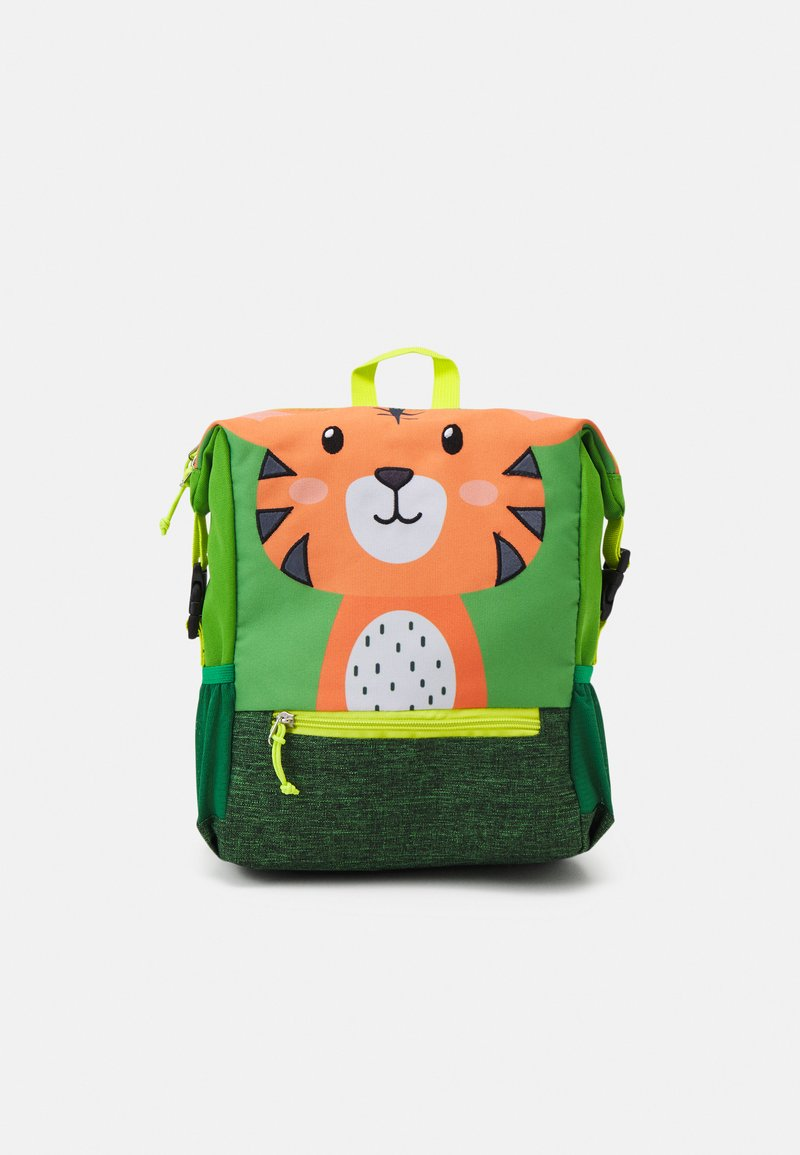 Fabrizio - RECYCLED BACKPACK TIGER UNISEX - Rucksack - light green