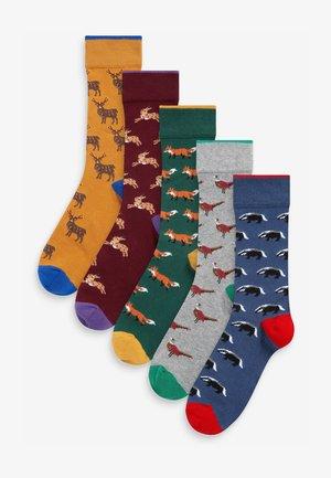 5 PACK - Socken - multi-coloured