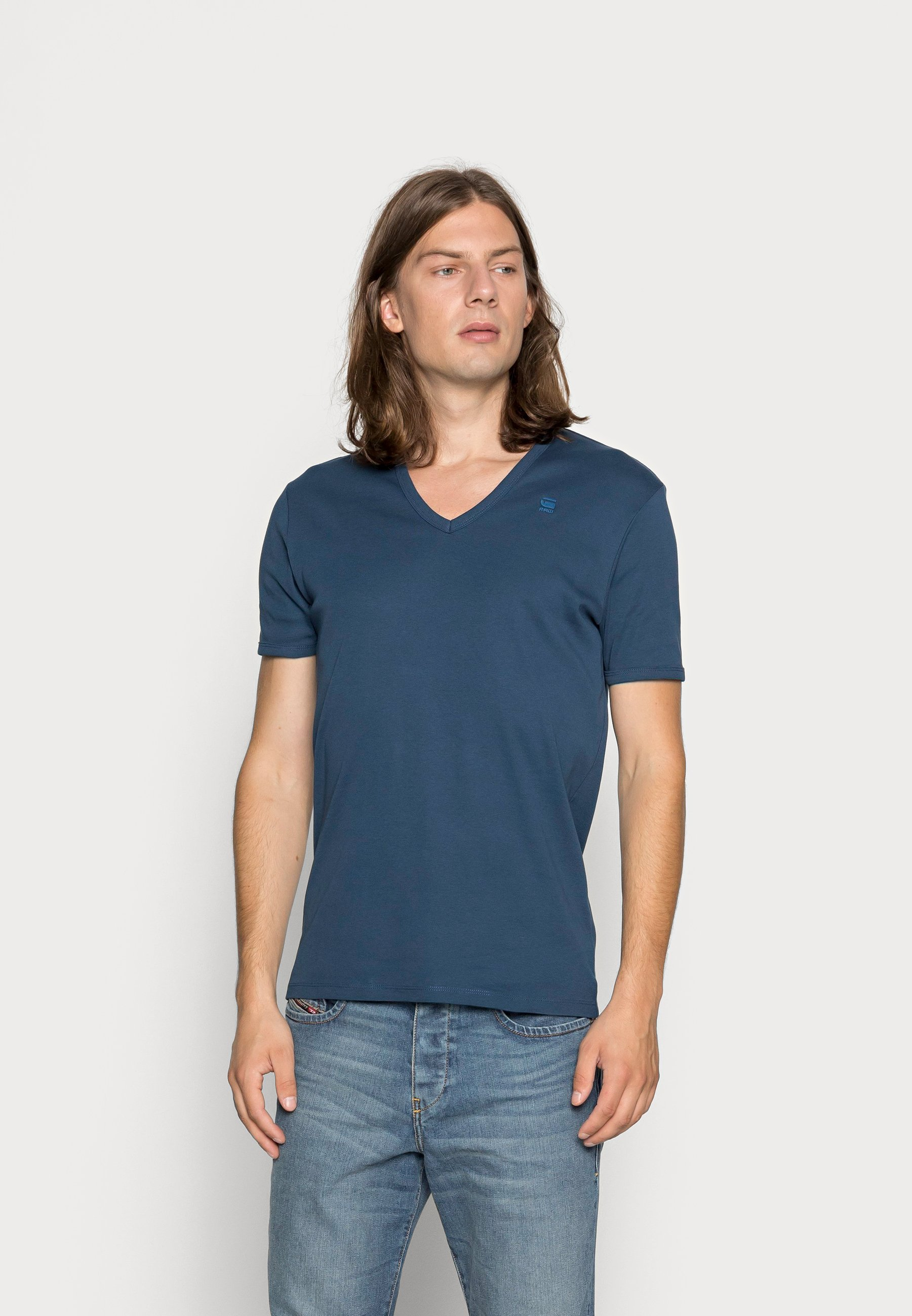 Herrer BASE 2 PACK - T-shirts basic