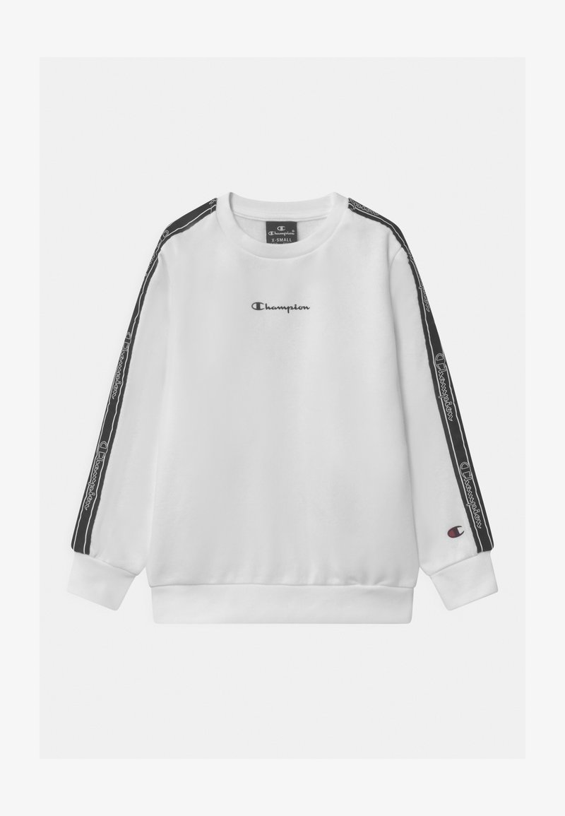 Champion - LEGACY AMERICAN TAPE CREWNECK UNISEX - Sweater - white