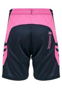 Hummel - HMLACTION  - Sports shorts - black iris/sugar plum - 1