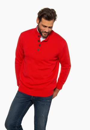 Jumper - red melange