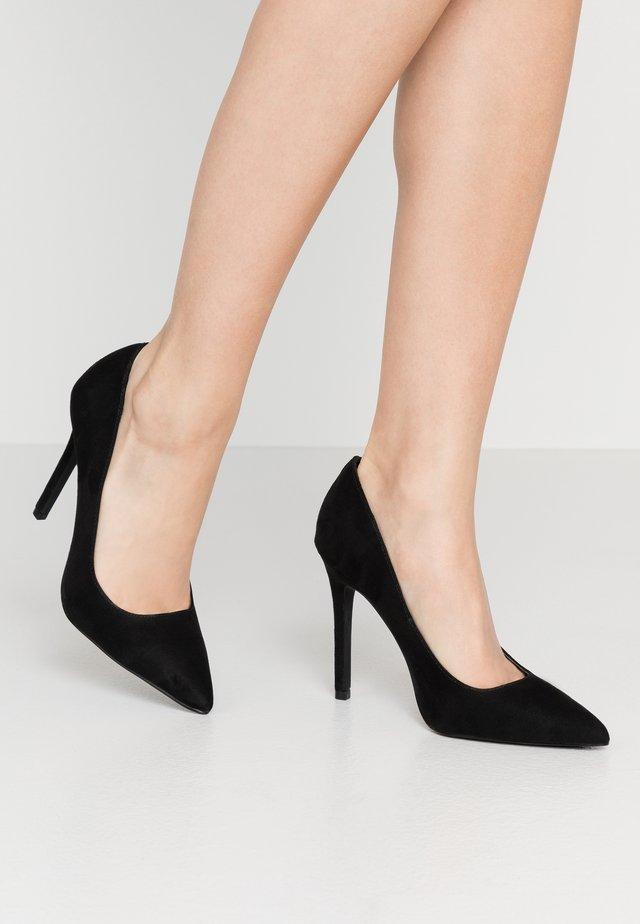 SLIM - Escarpins à talons hauts - black