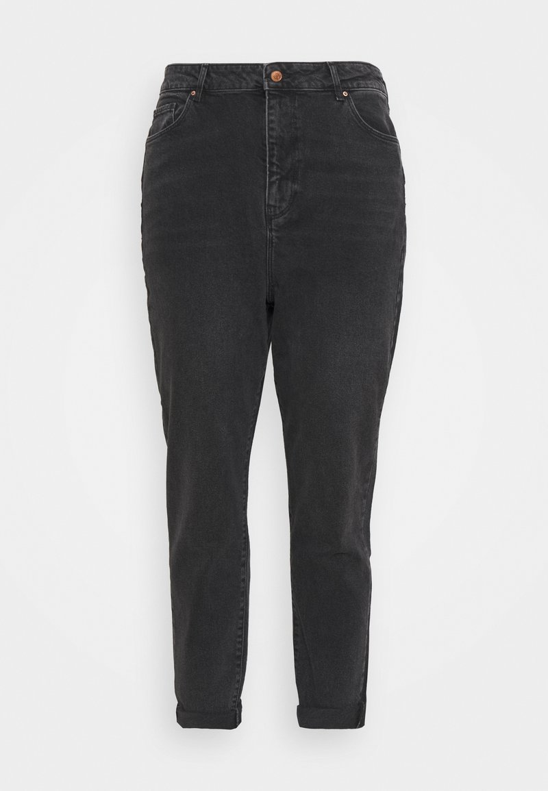 New Look Curves - SRI LANKA MOM - Relaxed fit jeans - black