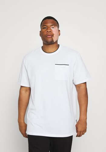 ONSABRAM LIFE TEE - Basic T-shirt - white