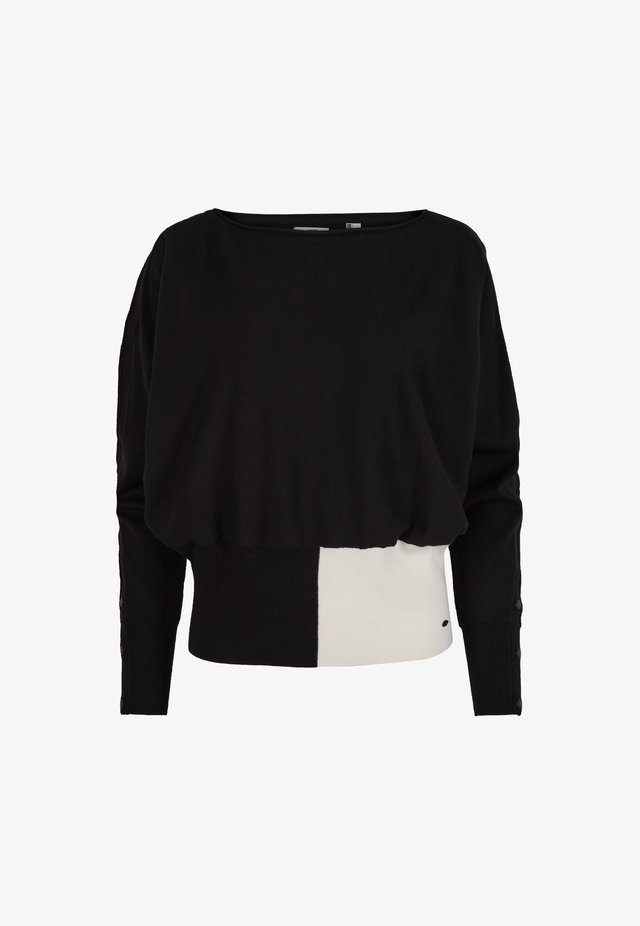 Pullover - black out