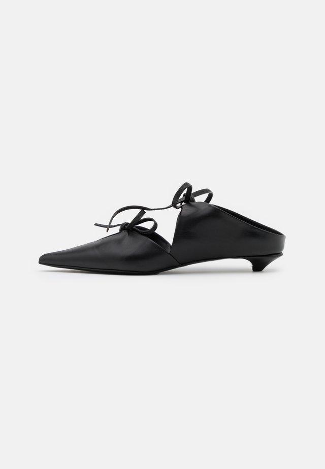 SETA LUX - Scarpe senza lacci - nero