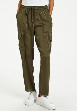 KAZALIANA  - Tracksuit bottoms - grape leaf