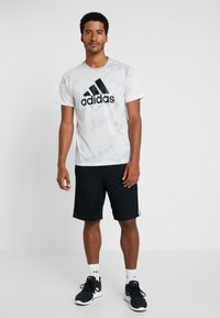 adidas Performance - Pantaloncini sportivi - black/white - 1