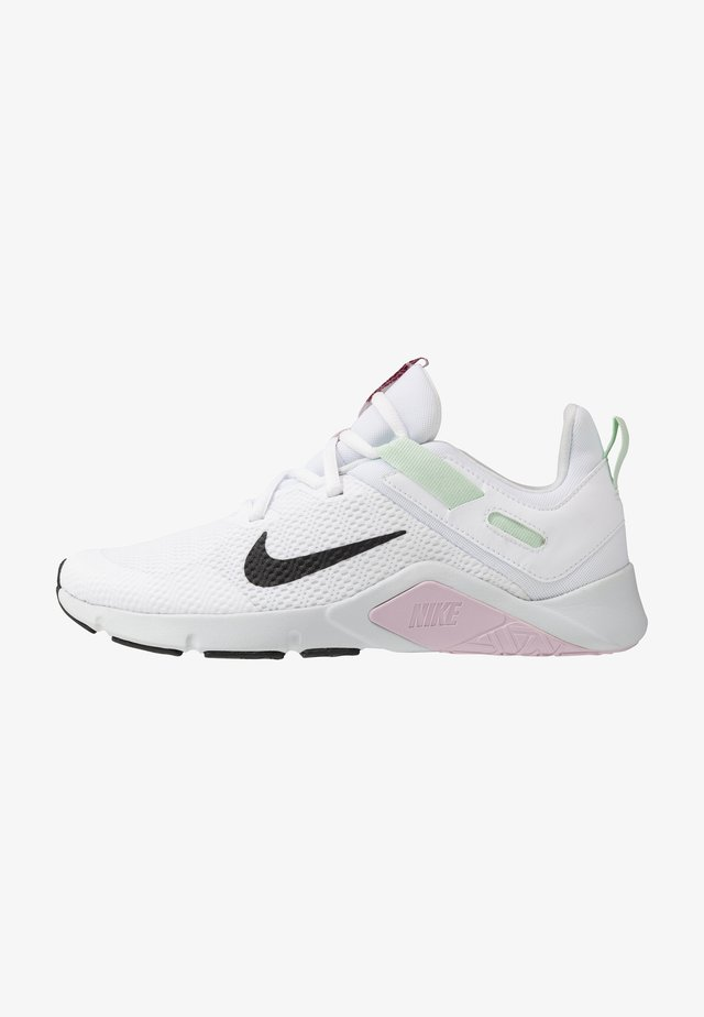 LEGEND ESSENTIAL - Sports shoes - white/black/pistachio frost/iced lilac/pure platinum/noble red