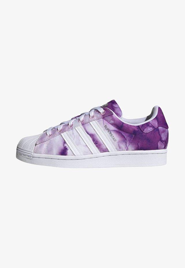 SUPERSTAR SHOES - Baskets basses - ultra purple/ftwr white/true pink