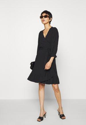 ELLERY WRAP DRESS - Day dress - black