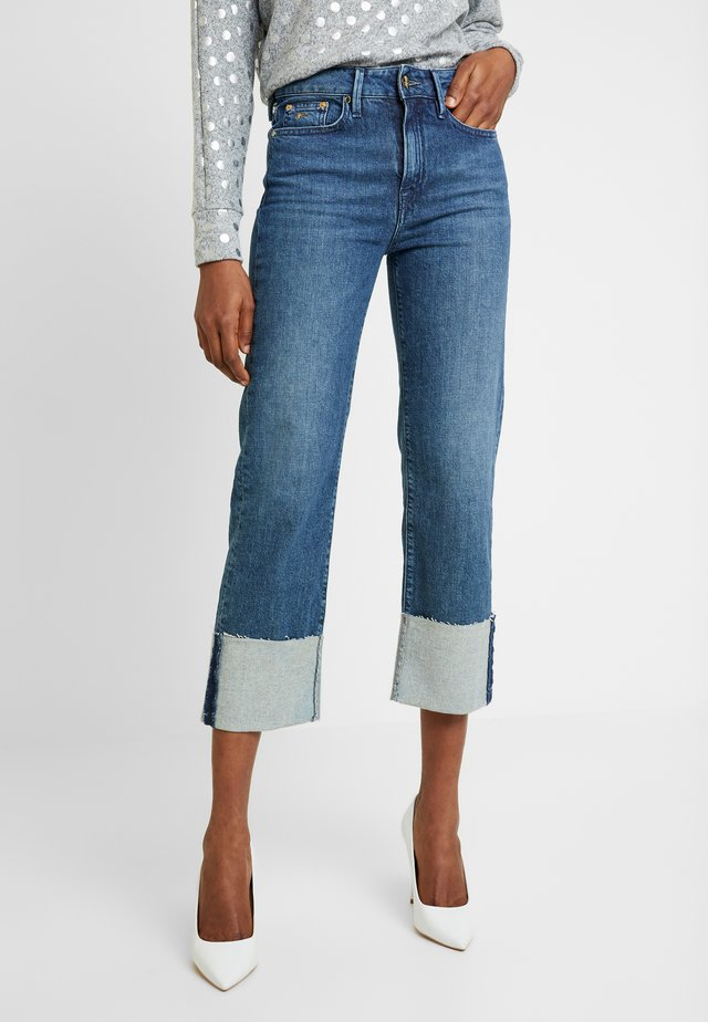KELLY GRFFNIGHT - Straight leg jeans - blue
