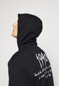 Paul Smith - EMBROIDERED AND PRINTED HOODY - Hoodie - black - 4