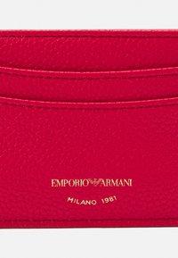 Emporio Armani - PORTA - Peněženka - rosso - 3