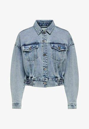 CROPPED - Denim jacket - light blue denim