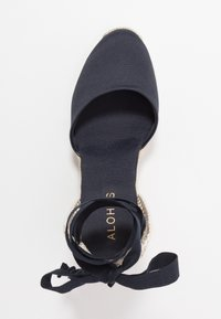 ALOHAS - CLARA BY DAY - High heeled sandals - navy - 3
