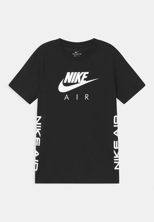AIR - T-shirt con stampa - black