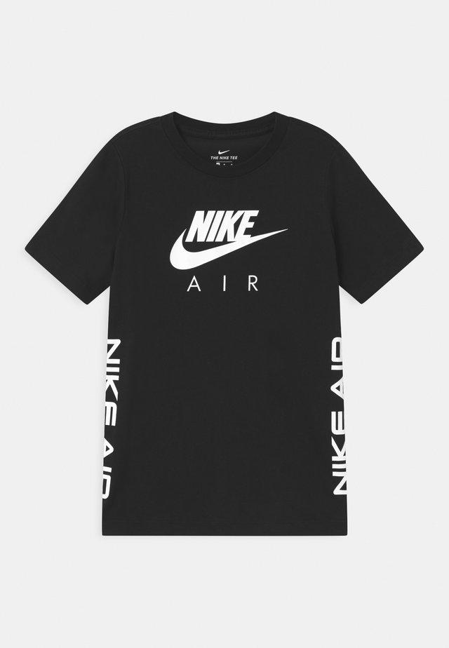 TEE AIR - Print T-shirt - black